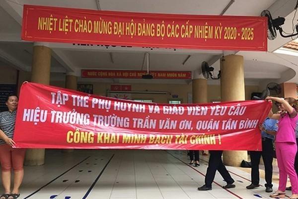TP.HCM: Hiệu trưởng cho bỏ ngoài sổ sách 735 triệu tiếp tục bị đình chỉ