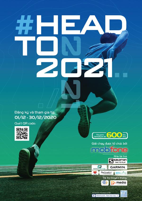 Gói C120N 'tiếp sức' hành trình chạy online Head to 2021