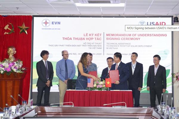 Mỹ hỗ trợ thúc đẩy triển khai năng lượng sạch tại Việt Nam