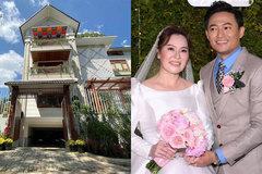 Biệt thự triệu đô sang xịn, ngập tràn hoa của diễn viên Quý Bình và bà xã doanh nhân