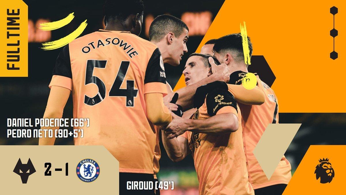 Wolves ngược dòng thắng nghẹt thở Chelsea