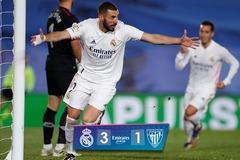 """Benzema sáng rực, Real Madrid cho Barca """"ngửi khói"""""""