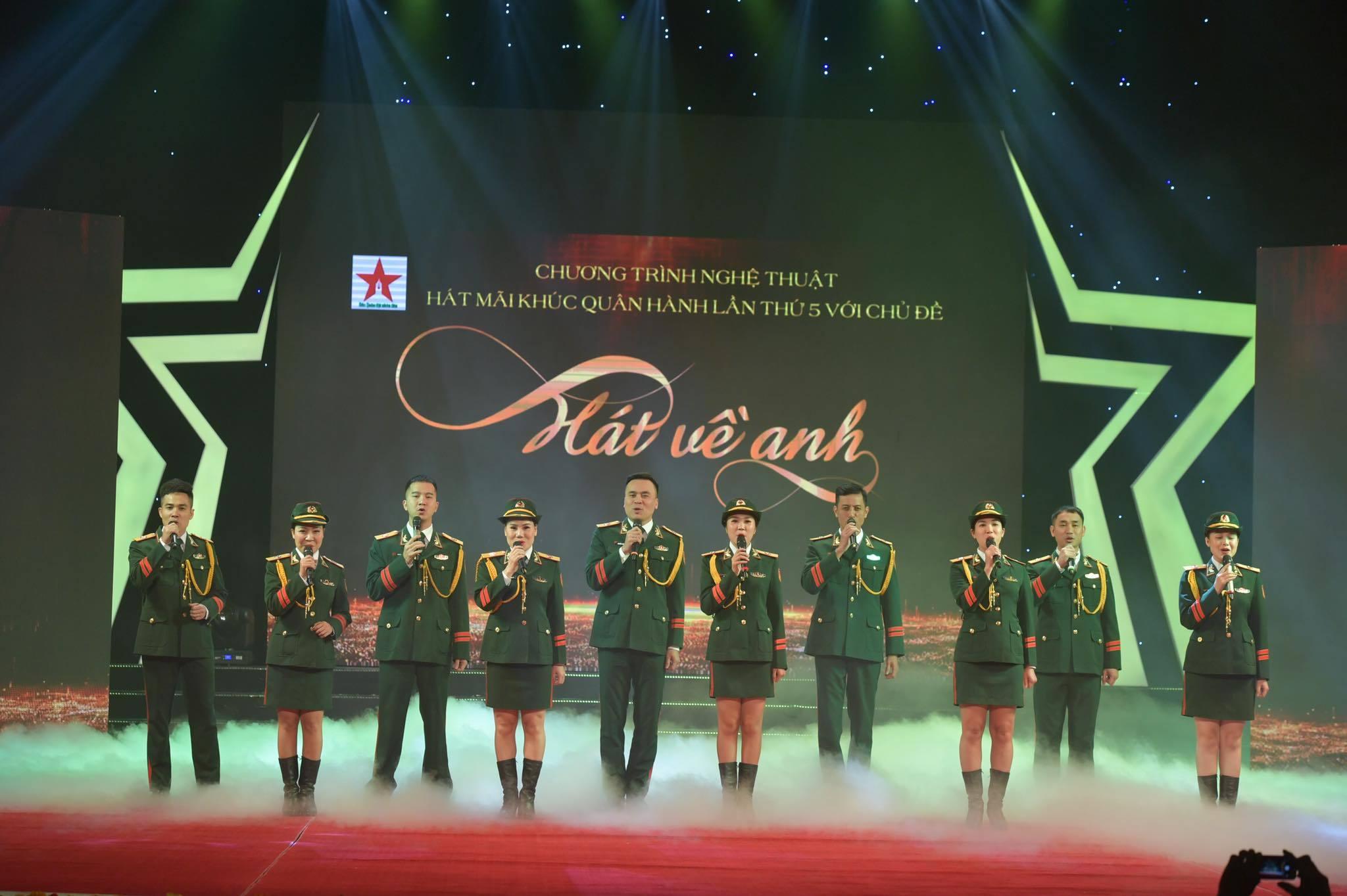 Vũ Thắng Lợi, Phạm Phương Thảo hát ở chương trình 'Hát mãi khúc quân hành'