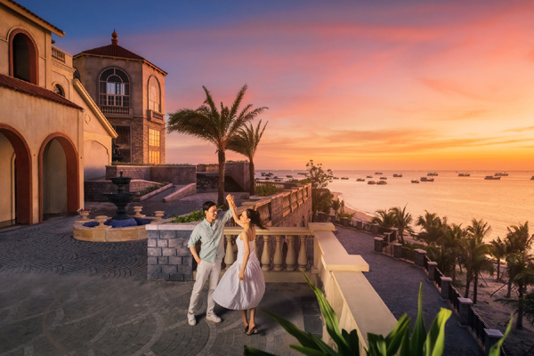'Săn' hoàng hôn tuyệt đẹp ở Sun Premier Village Primavera Phú Quốc