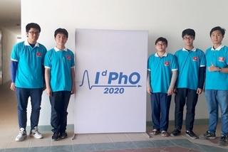 Việt Nam giành 5 huy chương Vật lý quốc tế