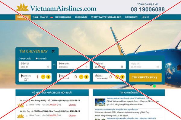 Hiếu PC ra tay 'xoá sổ' 2 trang web giả Vietnam Airlines và Vietjet Air lừa đảo bán vé máy bay