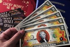 Cầu may bằng hàng ngoại: Đổi 300.000 đồng lấy tờ 2 USD in hình trâu