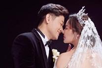 Vợ đại gia hé lộ ảnh cưới studio nét căng với Quý Bình