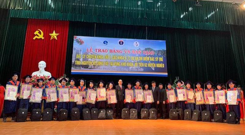 60 bác sĩ trẻ tình nguyện về công tác tại vùng khó khăn