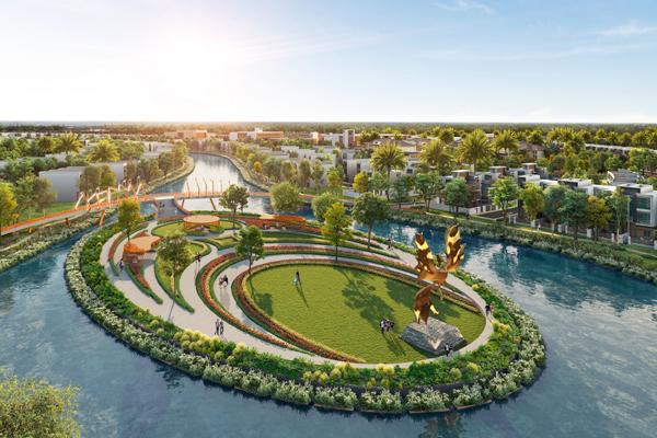 Không gian sống nghỉ dưỡng giữa thiên nhiên ở Aqua City