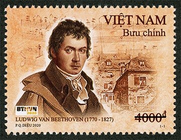 Ra mắt bộ tem Bưu chính 'Ludwig van Beethoven (1770 - 1827)'