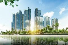 'Ốc đảo xanh' với 9 tòa tháp ấn tượng ở khu Nam TP.HCM