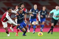 Video bàn thắng Arsenal 1-1 Southampton
