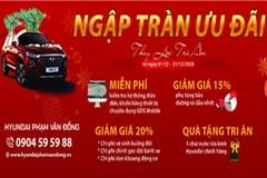 Hyundai Phạm Văn Đồng giảm giá loạt dịch dụ tri ân khách hàng