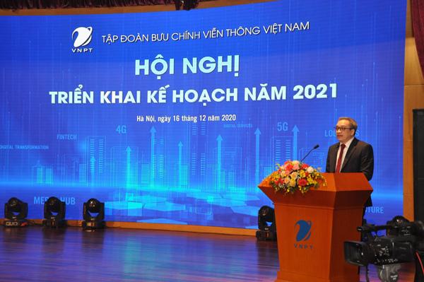 Năm 2020, VNPT đạt tổng doanh thu đạt 162,7 nghìn tỷ đồng