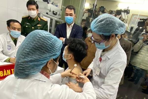 Bắt đầu tiêm thử nghiệm vắc xin Covid-19 của Việt Nam