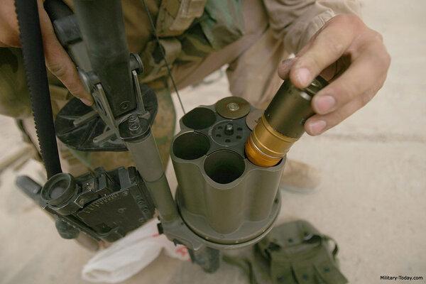 Uy lực súng phóng lựu ổ xoay nguy hiểm nhất thế giới