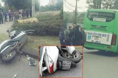 Va chạm với xe buýt, một người tử vong tại chỗ ở Hà Nội