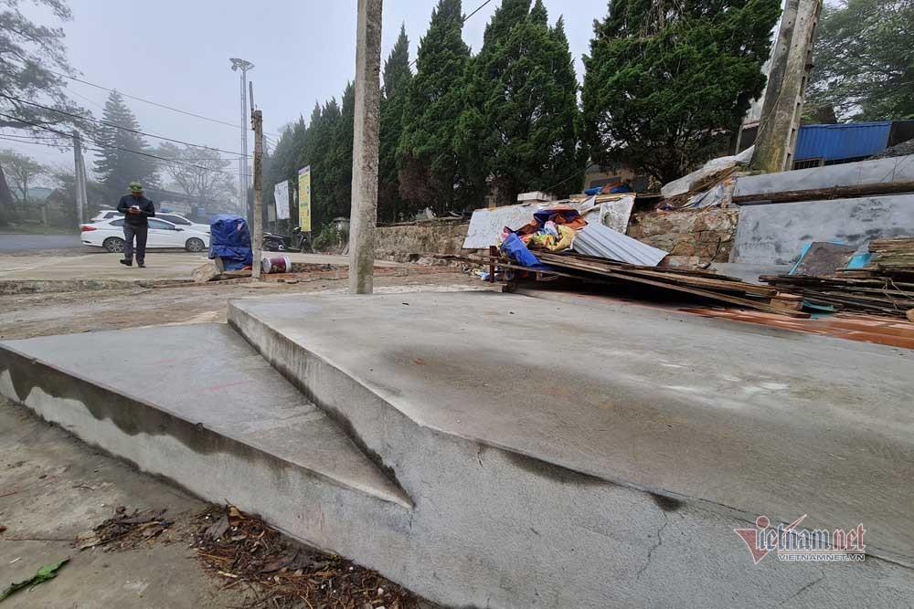 Vĩnh Phúc dỡ hàng loạt công trình vi phạm ở thị trấn Tam Đảo