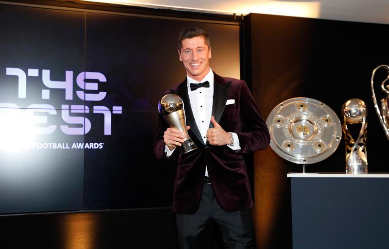 Qua mặt Messi và Ronaldo, Lewandowski đoạt The Best 2020