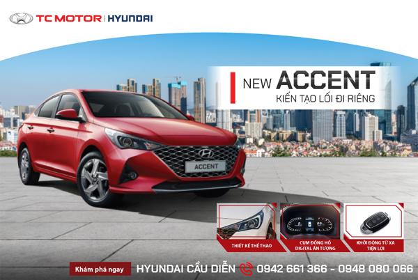 Hyundai Accent hấp dẫn hơn với phiên bản thể thao mới