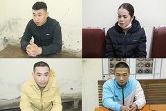 Bắt cặp vợ chồng bảo kê trước cổng bệnh viện ở Nghệ An