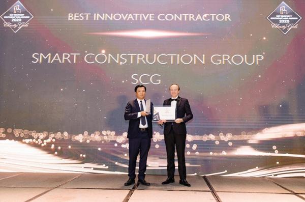 SCG nhận giải Nhà thầu xây dựng đột phá nhất Đông Nam Á 2020
