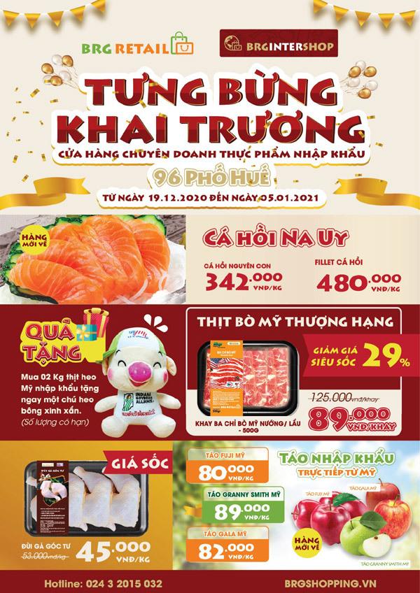 Tập đoàn BRG khai trương cửa hàng thực phẩm nhập khẩu ở Hà Nội