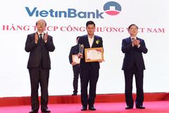 VietinBank vào top 10 sản phẩm, dịch vụ tin dùng Việt Nam 2020