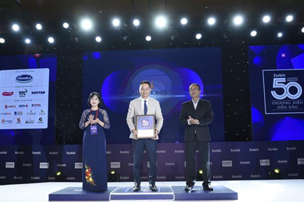 Vinhomes vào top 5 thương hiệu dẫn đầu Việt Nam