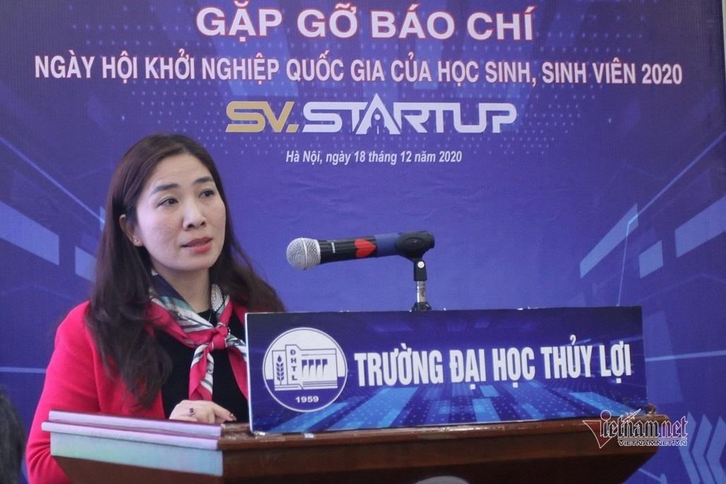 Gần 600 bài dự thi 'Học sinh, sinh viên với ý tưởng khởi nghiệp'