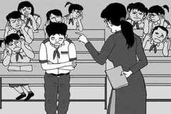 Kỷ luật bằng sự xấu hổ hay bạo hành tinh thần học sinh