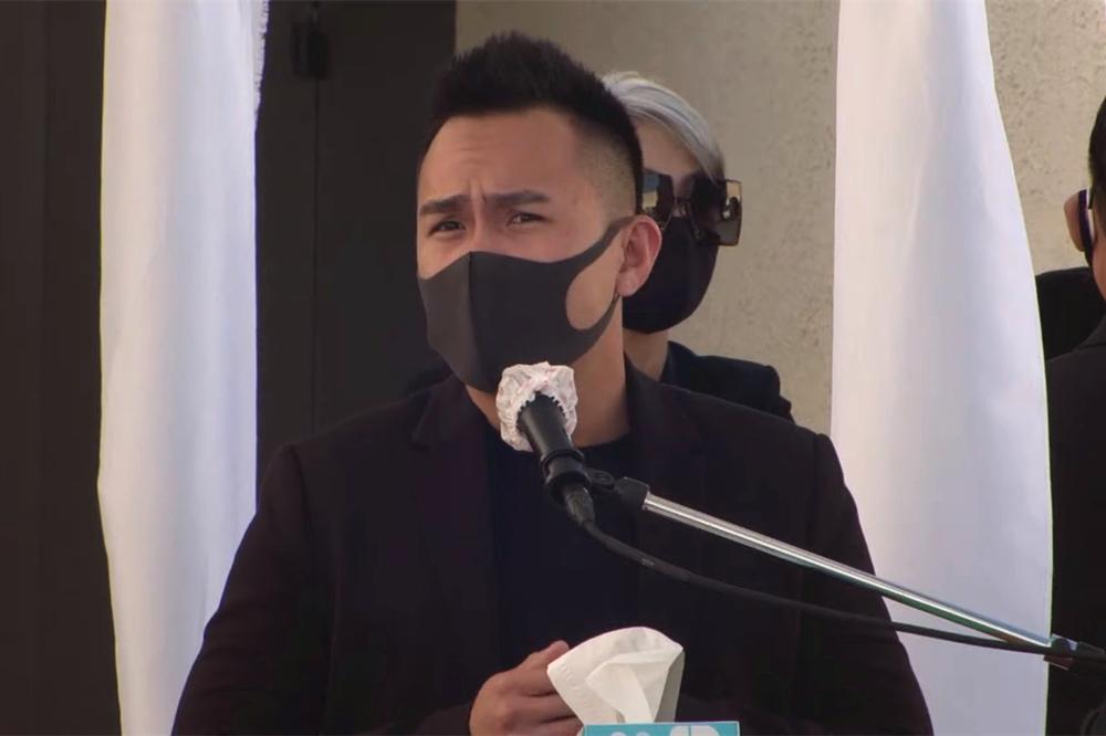 Hương Lan, Khánh Hà và các nghệ sĩ viếng Chí Tài tại Mỹ