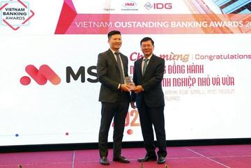 MSB được vinh danh Ngân hàng đồng hành hiệu quả cùng DN vừa và nhỏ