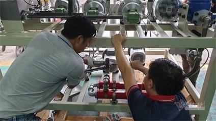 Chế tạo thành công giải pháp bôi trơn thiết bị trong sản xuất công nghiệp