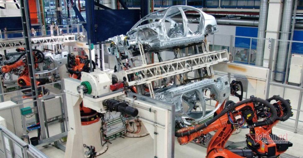 Tự động hóa thủy lực trong sản xuất công nghiệp giúp nâng cao chất lượng sản phẩm