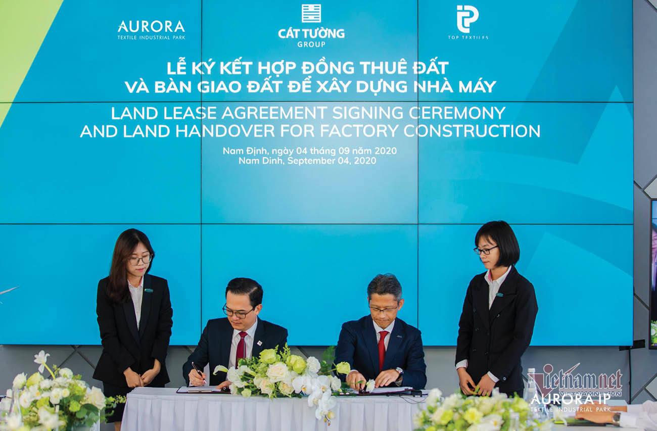 Khu Công nghiệp Dệt may Rạng Đông - Aurora IP đặt mục tiêu sản xuất 1 tỷ mét vải năm 2022