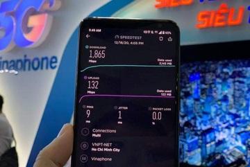 VinaPhone công bố vùng phủ sóng 5G tại Hà Nội, TP.HCM