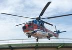 Sân bay trực thăng đầu tiên trên nóc bệnh viện tại TP.HCM