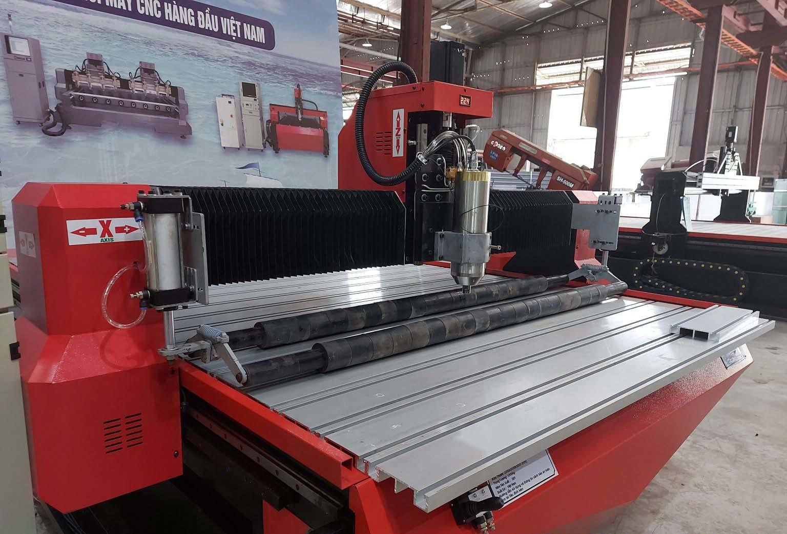 Đông Phương tiên phong chế tạo máy CNC, thiết bị tự động hoá