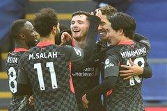 Liverpool vùi dập Crystal Palace với tỷ số 7-0