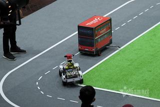 """Phút giây """"cân não"""" tại giải đua xe tự hành lớn nhất Việt Nam"""