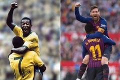 Vua bóng đá Pele lên tiếng khi Messi sánh ngang kỷ lục