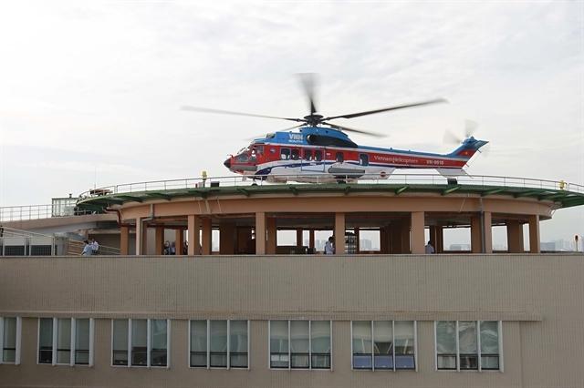 helipad,hospital,social news,emergency deliveries,english news