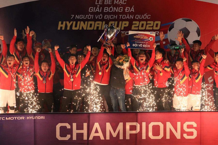 Giải 'phủi' HPL-S8 tìm ra nhà tân vô địch