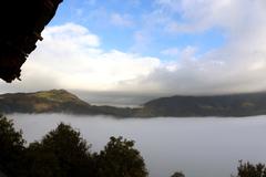 Thiên đường ngất ngây: Ngắm mây, thưởng trà, dưỡng khoáng nóng