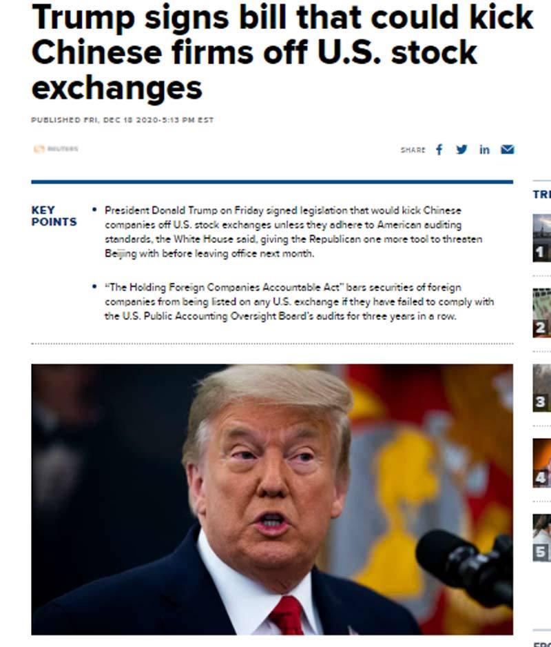 Những ngày cuối bận rộn, Donald Trump liên tục ra lệnh bất ngờ