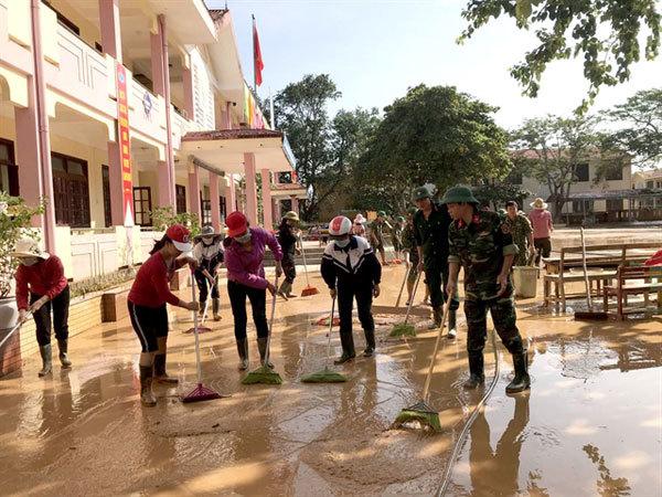 flood,schools,central vietnam
