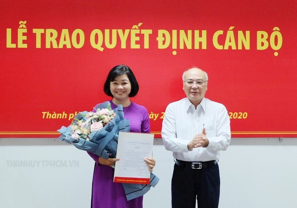 Nhà báo Lý Việt Trung làm Tổng Biên tập báo Phụ Nữ TP.HCM