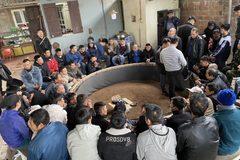 Trăm công an vây bắt 59 người sát phạt nhau trên sới chọi gà